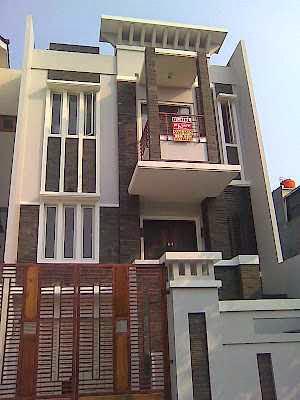 Rumah minimalis type 21 tampak depan