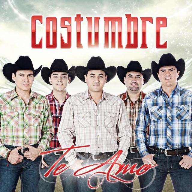 Costumbre - Te Amo CD Album 2013