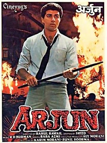 Arjun Poster - Sunny Deol Movie