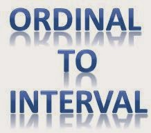 Ordinal to Interval Theory