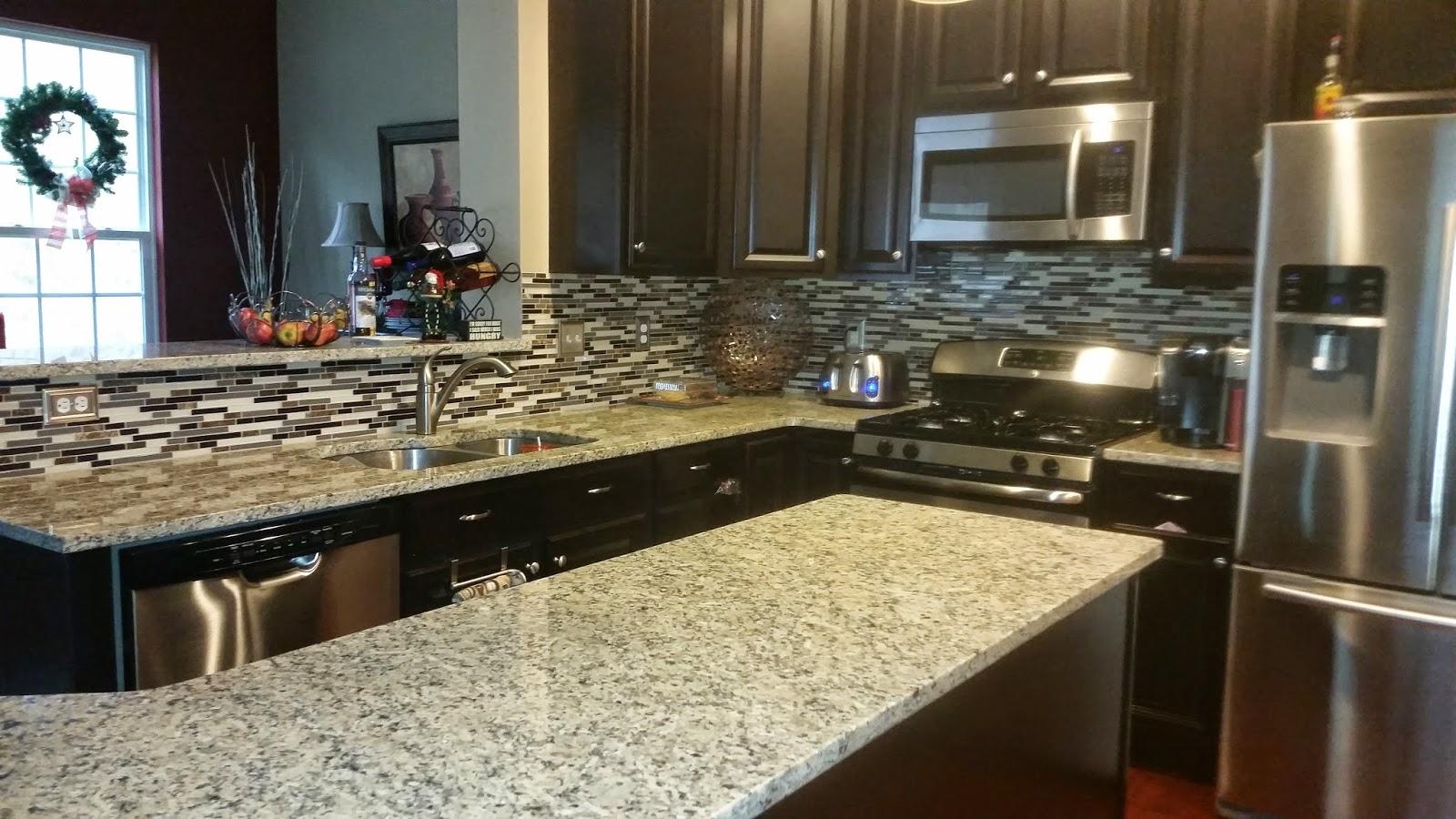 savoy ryan home kitchen bling for xmas aka new backsplash