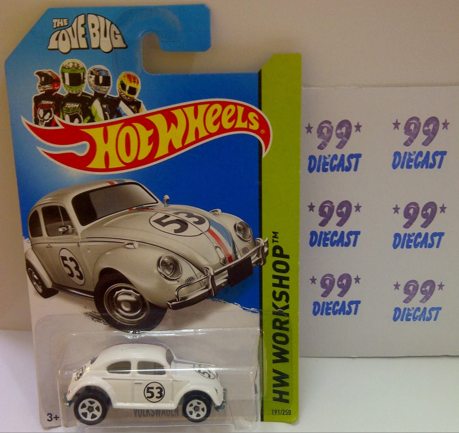 HW VW  BEETLE HERBIE (2014)