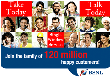 BSNL Take Today Talk Today New Mobile Marketing