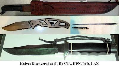 3 large knives.