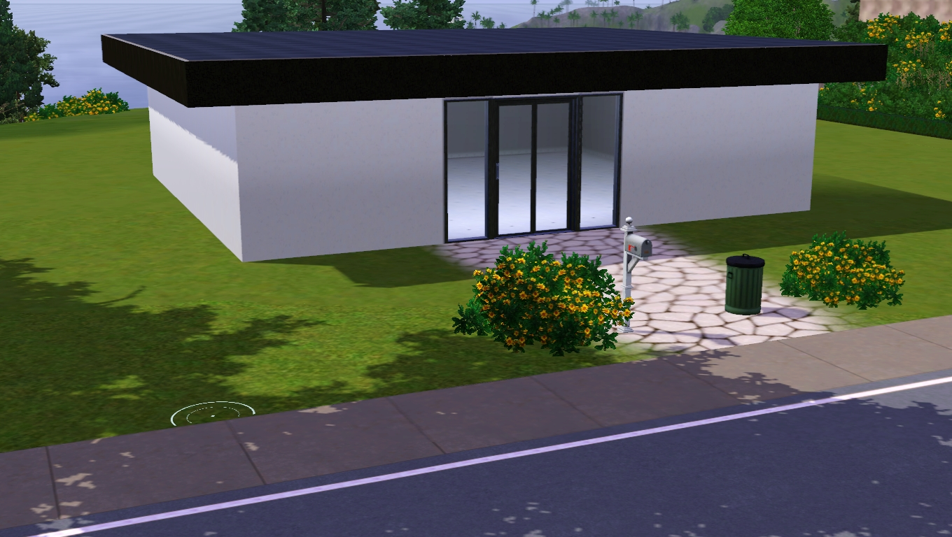 The sims giuly download e tutorial di the sims 3 for Piani casa tetto piatto