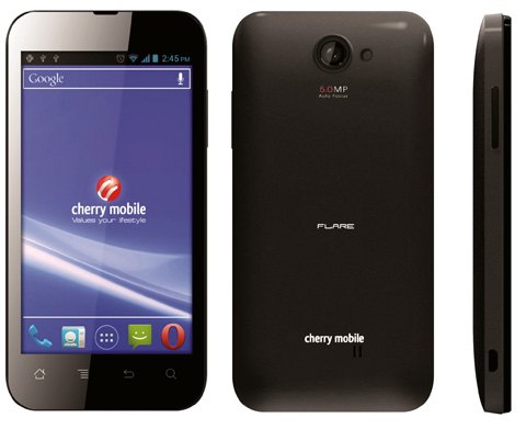 Cherry Mobile Flare: Cheapest Quality Android Phone in PH