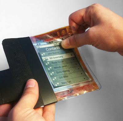 紙片型手機(PaperPhone)