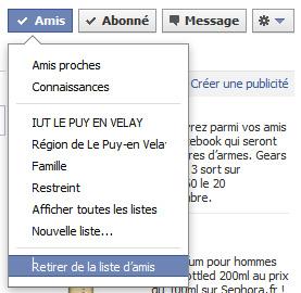 Supprimer un ami Facebook, le bloquer et/ou le signaler ?
