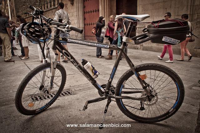 policía local salamanca bici