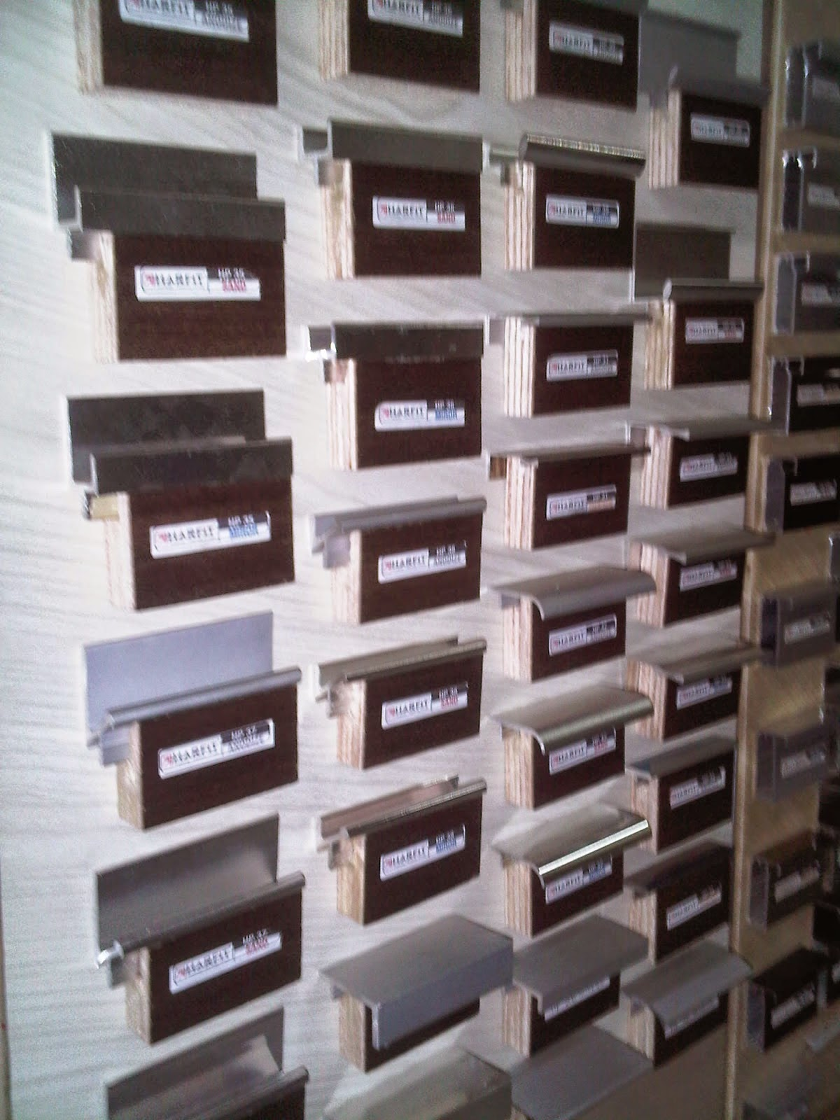 Frame aluminium dan handle untuk kayu harfit bintang for Jual kitchen set aluminium