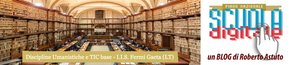 Discipline Umanistiche e TIC base 01 - Fermi Gaeta.