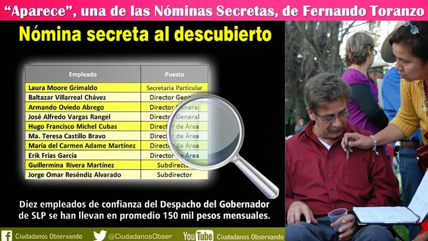 FERNANDO TORANZO, YA TIENE HOY, MÁS DE 1,000 DÍAS SIN IR AL PALACIO DE GOBIERNO.......