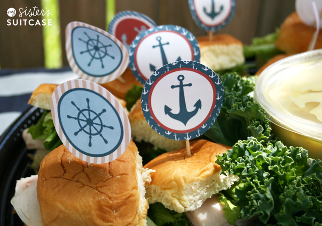 Get The Nautical Party Circles By Clicking HERE