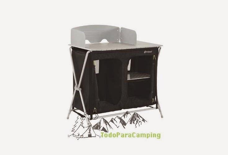 Mesa Cocina Camping | Todoparacamping Com Articulos De Camping Ropa De Montana Material