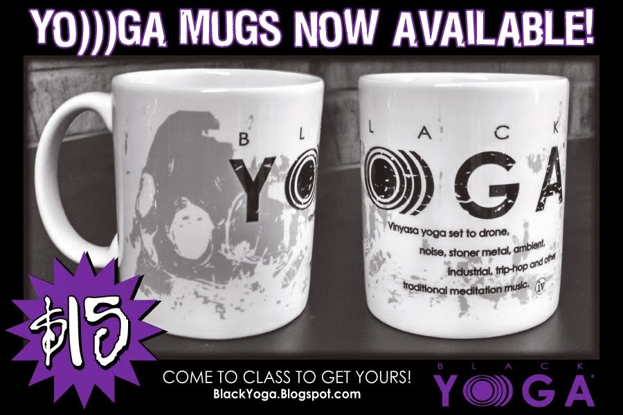 LIMITED EDITION YO)))GA MUGS