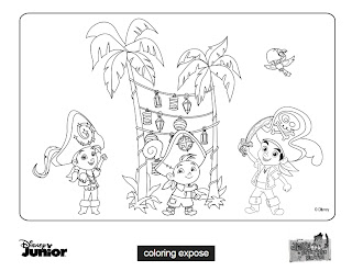jake and the neverland pirates coloring pages click image to download - Jake Coloring Pages
