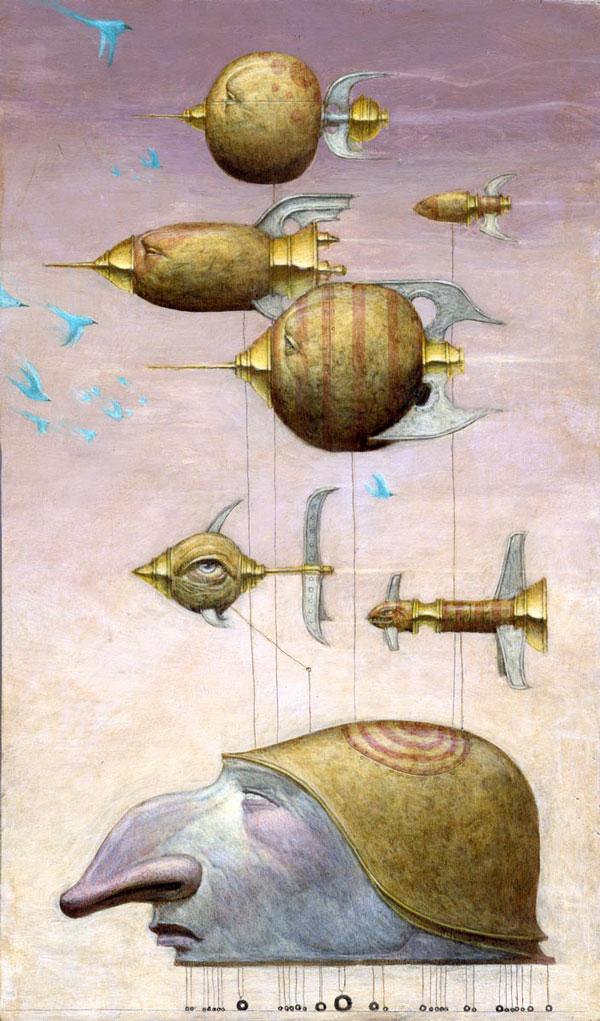 Bill Carman ilustração