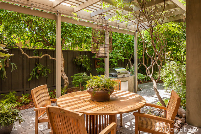 Backyard Remodel Bay Area : side patio rear patio kitchen living room living room dining room