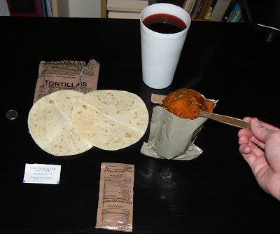 MRE Review: Menu 8, Marinara Sauce with Meatballs