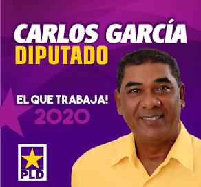 CARLOS GARCIA, PRECANDIDATO DIPUTADO PLD BARAHONA