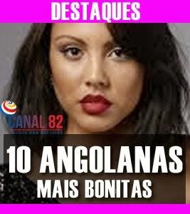 ANGOLANAS MAIS BONITAS 2013