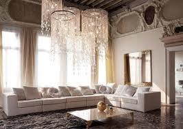 Modern Interior Design Living room in Roman style decor
