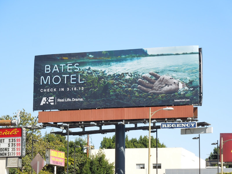 Bates Motel billboard