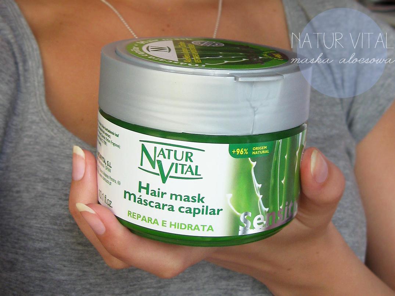 nawilżająca maska, natur vital maska aloesowa