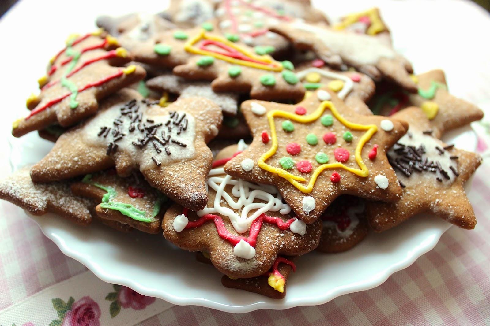 pierniki świąteczne, życzenia świąteczne