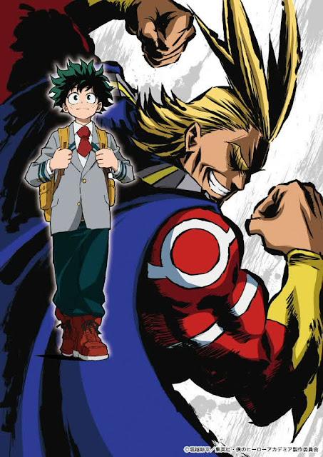 Studio BONES Akan Produksi Anime 'Boku no Hero Academia'