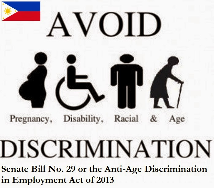 discrimination in the employment of the philippines Home opinion column the anti-age discrimination in employment law 2016 age discrimination is one of the great polytechnic university of the philippines.