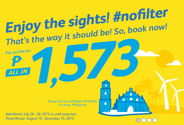 Fly to Laoag Cebu Pacific Promo Ticket