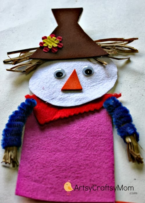 felt scarecrow craft