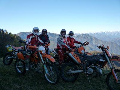 Carnia: la Motocavalcata delle Alpi Carniche 2012 entra nel vivo