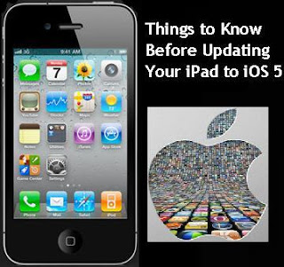updating your ipad to ios 5