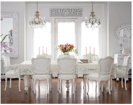 For Example, If You Like French Country, French Provincial And Shabby Chic  Looks, You Wouldnu0027t Choose A Table With Very Rectilinear Lines / Hard  Edges; ... Part 45