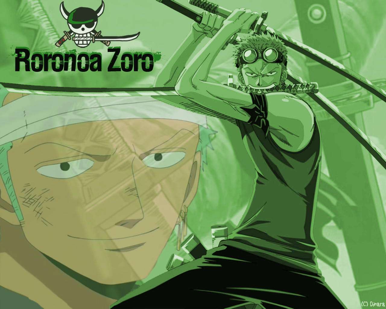 hình nền máy tinh Zoro onepiece