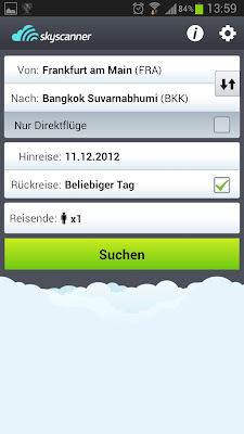 book flights with sky scanner