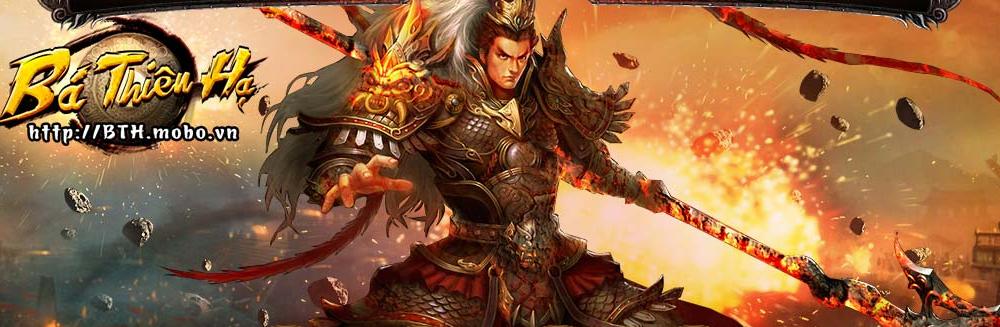 Sự kiện khuyến mãi khủng giá trị thẻ nạp trong game Bá Thiên Hạ
