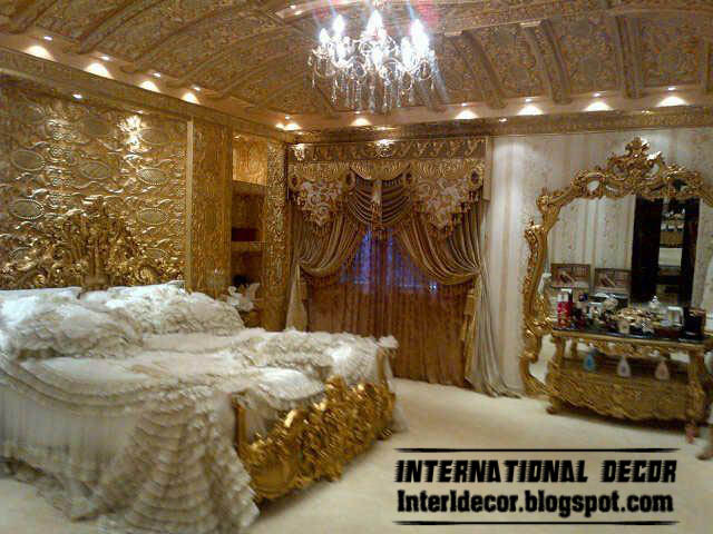 Interior And Architecture Royal Bedroom Luxury Interior
