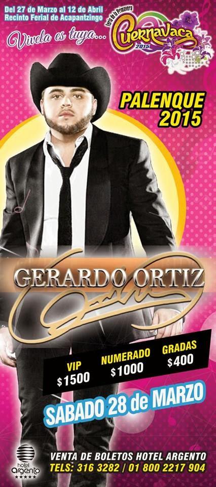 Gerardo Ortiz en Cuernavaca
