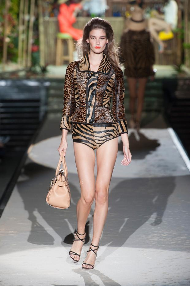 Spring dsquared2 runway photo