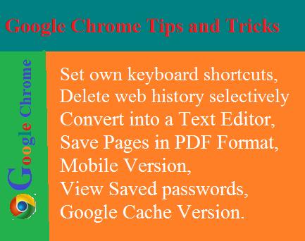 Google Chrome-11 Most Useful Google Chrome Tips and Tricks