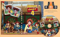 Capa DVD Tema Toy Story