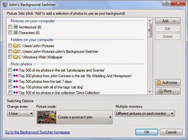 تحميل برنامج خلفيات سطح المكتب