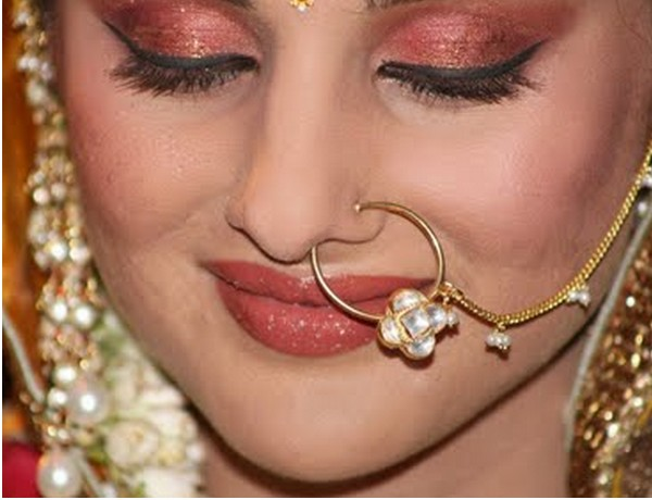Indian Bridal Nose Ring Designs   centerWallpaper hd center