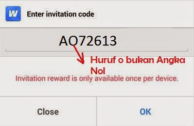 kode invite Whaff Rewards