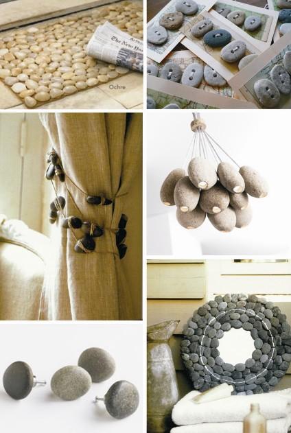 Neo arquitecturaymas decorar con piedras y rocas for Adornos navidenos que se pueden hacer en casa
