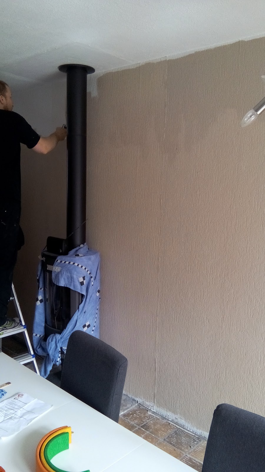 Sander en daantjes mint groene blog: foto's van de woonkamer bij ...