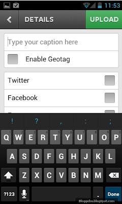 Instagram Android Berbagi Foto